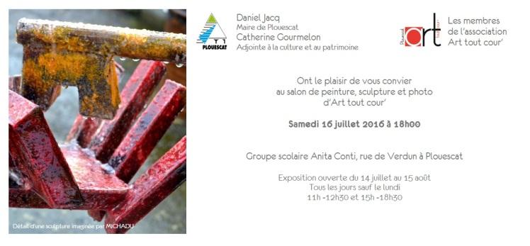invitation art tout cour' 2016